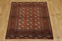 4x6 Turkoman Persian Area Rug