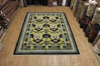 Mission Style Art & Craft Oushak Oriental Area Rug 9x12