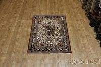 4x7 Qum Persian Area Rug