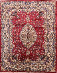 Medallion Mashad Persian Area Rug 10x13