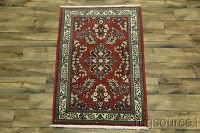 4x5 Sarouk Persian Area Rug