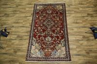 5x9 Malayer Hamedan Persian Area Rug