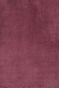 Purple Modern 7x10 Gabbeh Indian Oriental Area Rug