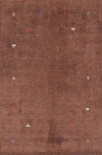Abstract Modern 7x10 Gabbeh Oriental Area Rug