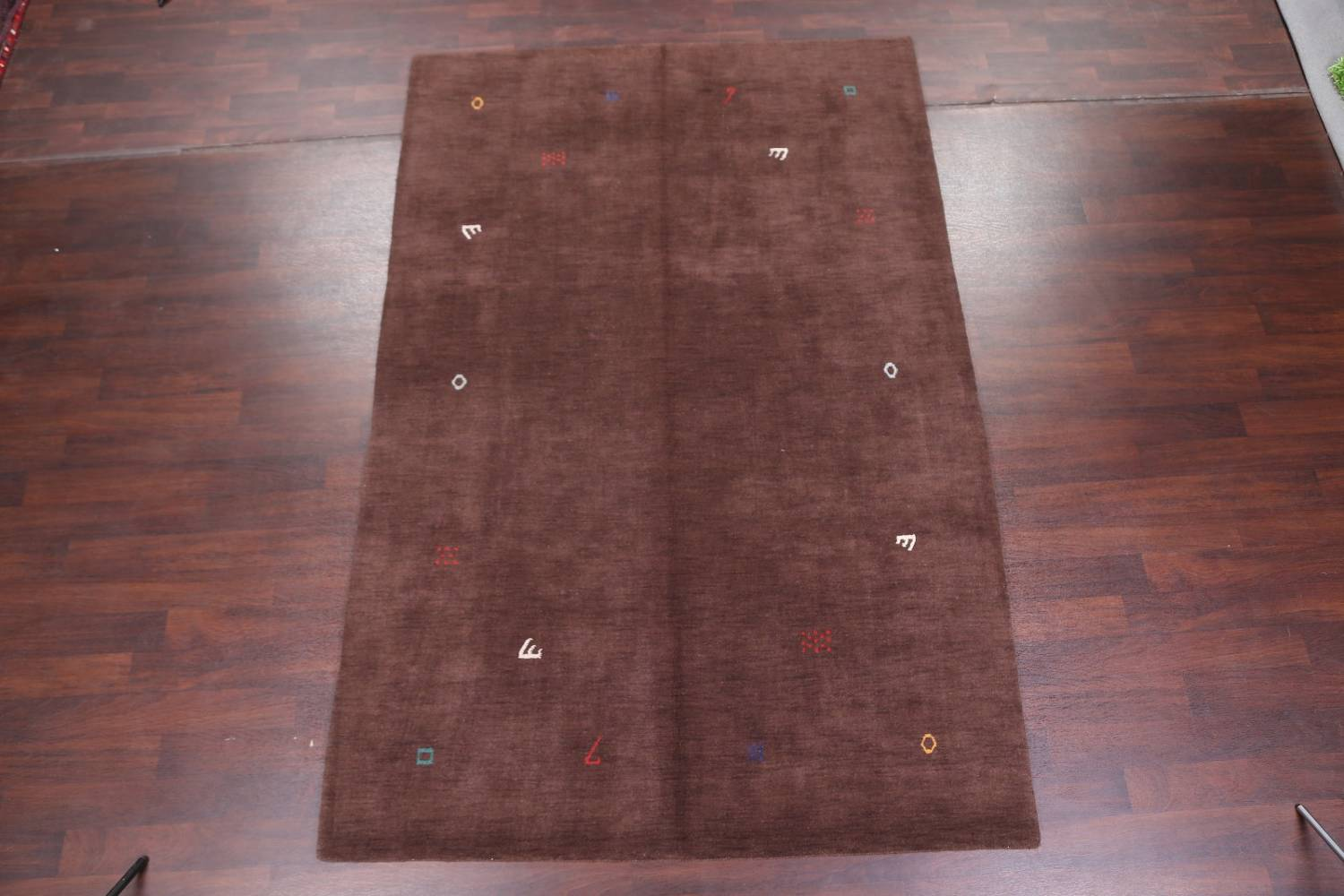 Abstract Modern Gabbeh Oriental Area Rug 7x10 image 2
