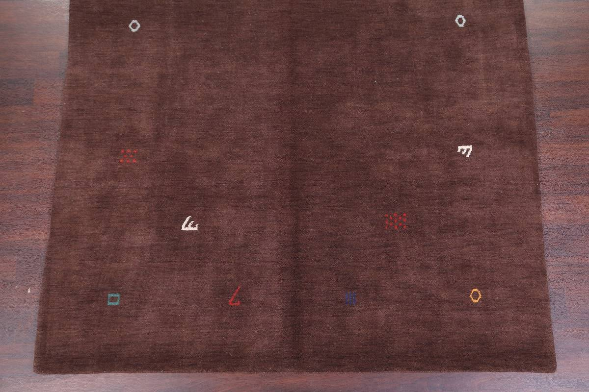 Abstract Modern Gabbeh Oriental Area Rug 7x10 image 5