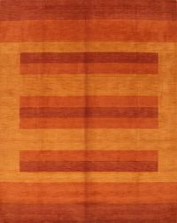 Striped Gabbeh Indian Oriental Area Rug 8x10