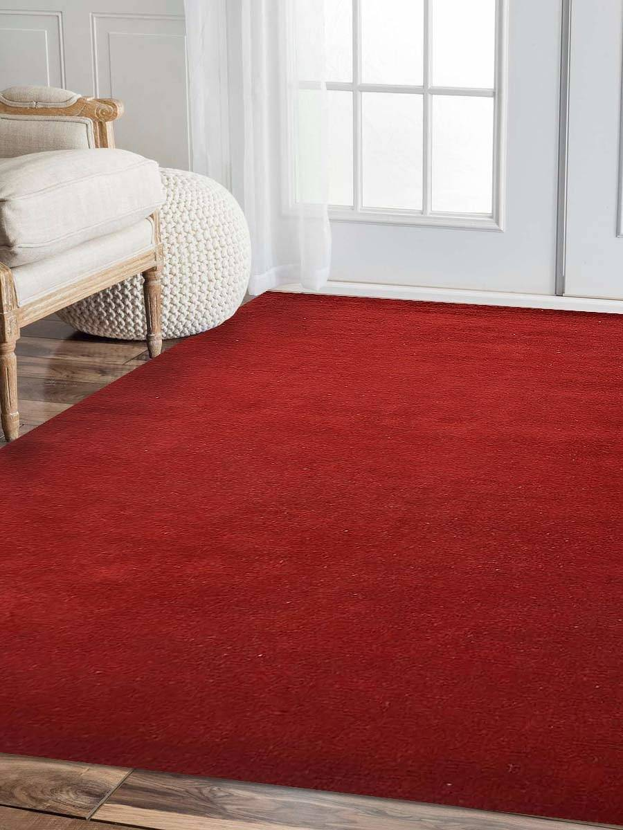 Contemporary Red Gabbeh Oriental Area Rug 8x10