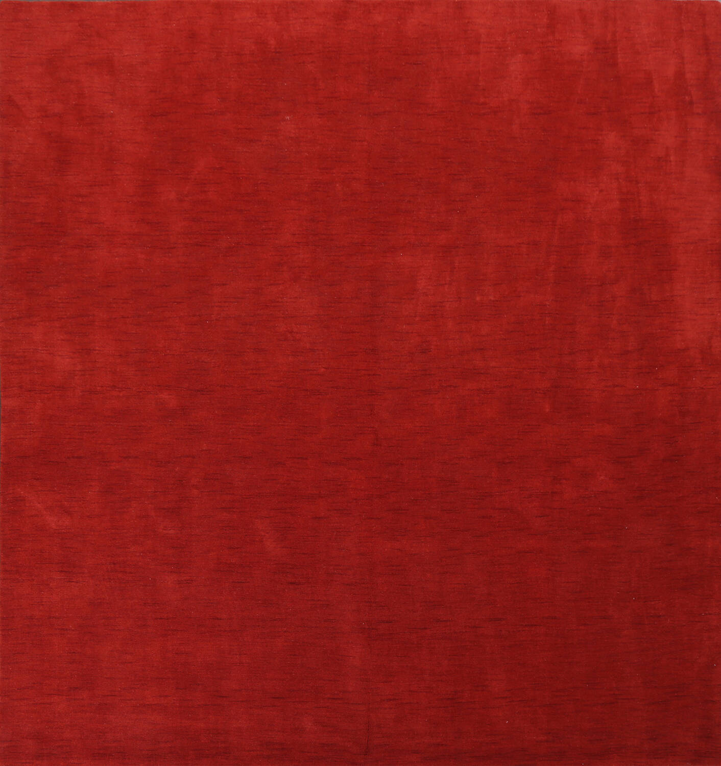 Contemporary Gabbeh Red Rug 10x10 Square image 1