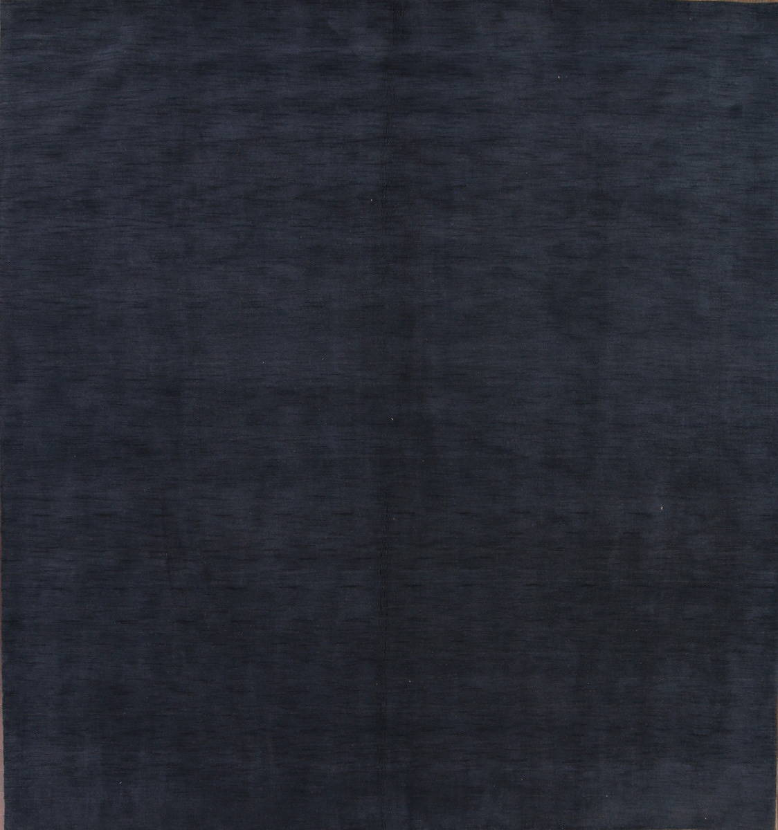 Square Modern Blue Gabbeh Indian Oriental Hand-Knotted Area Rug Wool 10x10