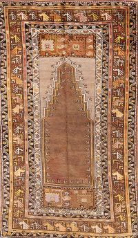 4x6 Oushak Turkish Oriental Area Rug
