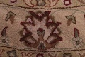 Hand-Tufted Floral 10x10 Oushak Agra Oriental Round Rug image 7