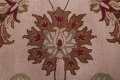 Hand-Tufted Floral 10x10 Oushak Agra Oriental Round Rug image 9