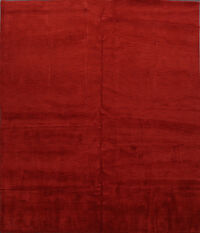 Red Square 10x10 Gabbeh Oriental Area Rug