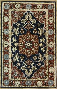 6x9 Tabriz Oushak Indian Oriental Area Rug