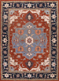 5x8 Heriz Indian Oriental Area Rug