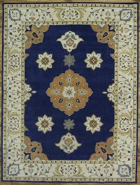 10x13 Tabriz Oushak Indian Oriental Area Rug