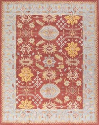 Hand-tufted Classic All-Over Oriental Area Rug 8x11
