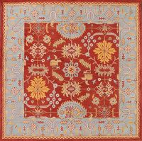 Hand-tufted Square Oushak Agra Oriental Area Rug 10x10