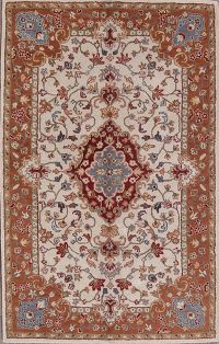 Traditional Vintage Style Kashan Hand-Tufted Oriental Area Rug 10x13