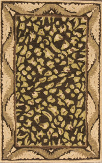 3x5 Animal Print Agra Oriental Area Rug