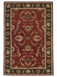 All-Over Floral Tabriz Agra Indian Oriental Hand-Tufted 9x12 Area Rug