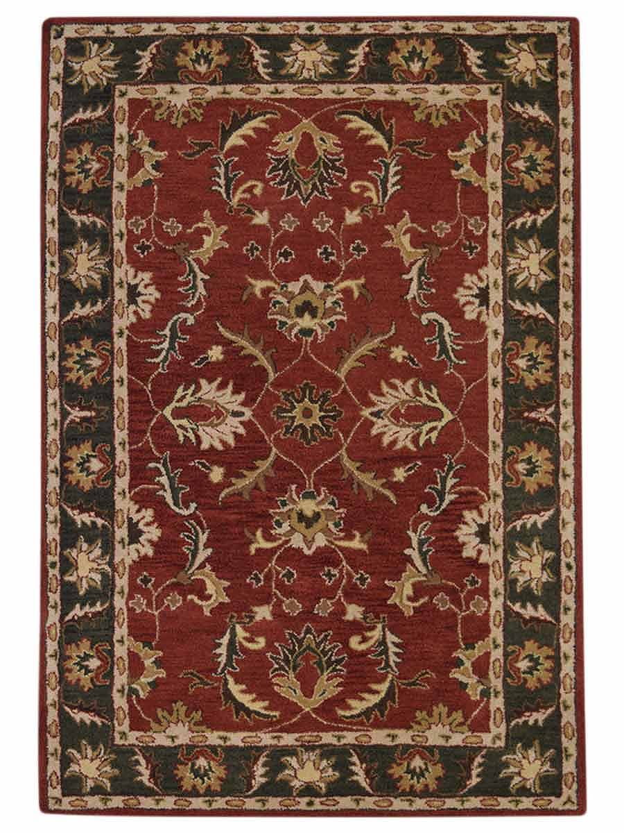 All Over Floral Tabriz Agra Indian Oriental Hand Tufted 9x12 Area Rug