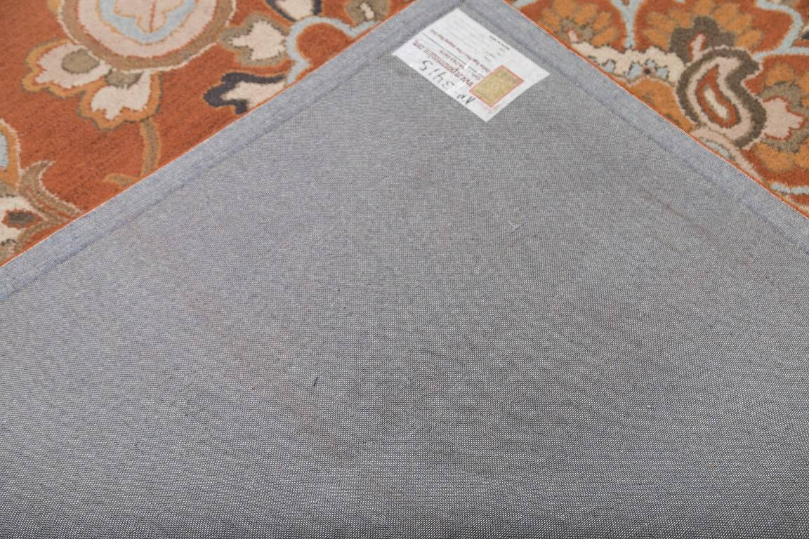 Floral Oushak Agra Oriental Hand-Tufted Area Rug Wool 9x12