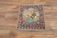 2x2 Tabriz Persian Square Are Rug