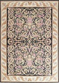 Flat-Woven Aubusson Tapestries Chinese Oriental Area Rug 8x11