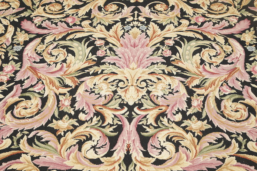Flat-Woven Aubusson Tapestries Chinese Oriental Area Rug 8x11 image 7