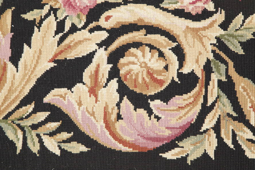 Flat-Woven Aubusson Tapestries Chinese Oriental Area Rug 8x11 image 9