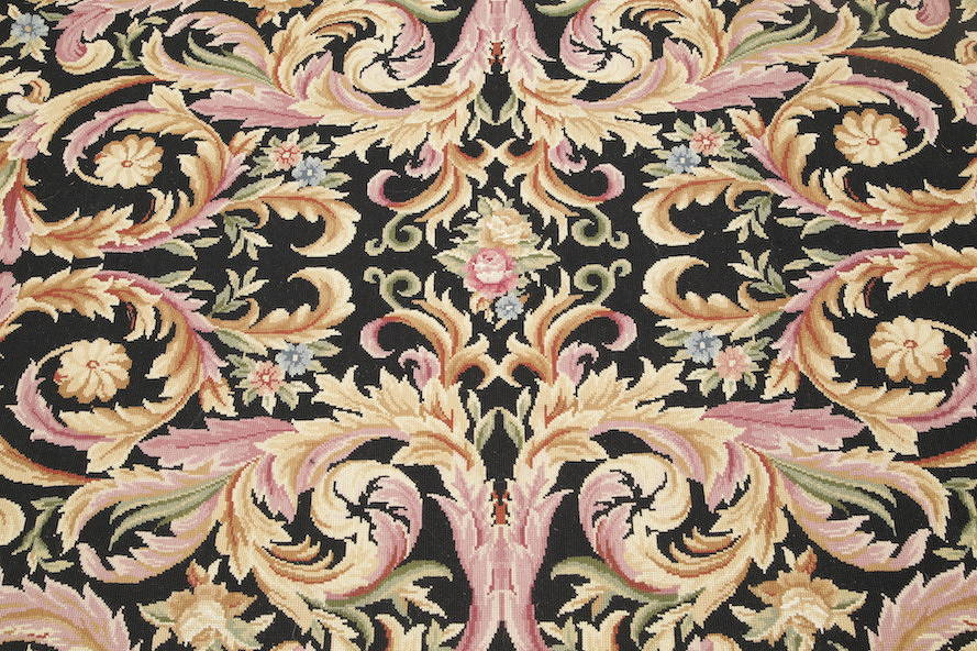 Flat-Woven Aubusson Tapestries Chinese Oriental Area Rug 8x11 image 10