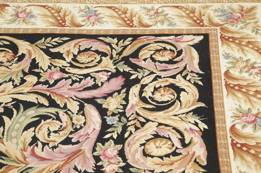 Flat-Woven Aubusson Tapestries Chinese Oriental Area Rug 8x11 image 11