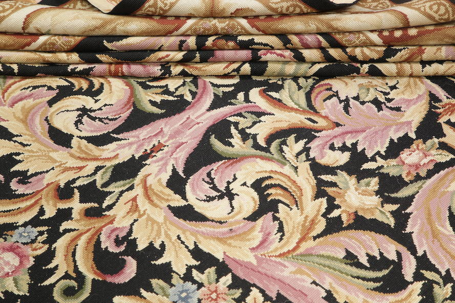 Flat-Woven Aubusson Tapestries Chinese Oriental Area Rug 8x11 image 12