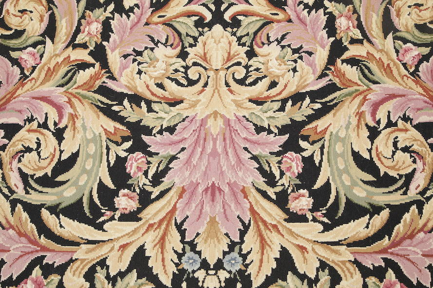 Flat-Woven Aubusson Tapestries Chinese Oriental Area Rug 8x11 image 13