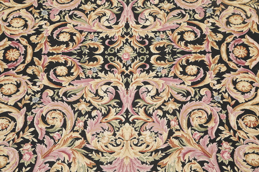 Flat-Woven Aubusson Tapestries Chinese Oriental Area Rug 8x11 image 16