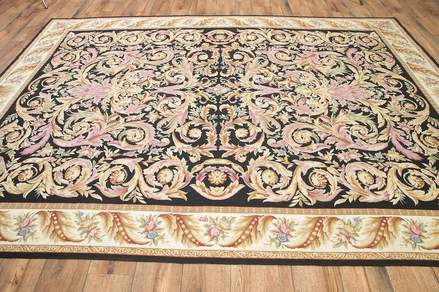 Flat-Woven Aubusson Tapestries Chinese Oriental Area Rug 8x11 image 21