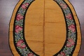 Floral 8x11 Gold Savonnerie French Art Deco Oriental Rug image 3
