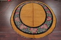 Floral 8x11 Gold Savonnerie French Art Deco Oriental Rug image 13