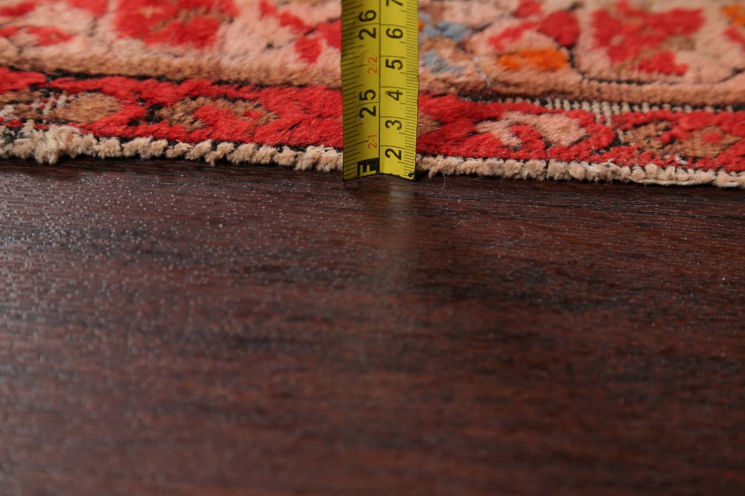 Pre-1900 Antique Bibikabad Persian Hand-Knotted 4x7 Wool Area Rug image 7