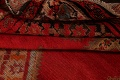 Pre-1900 Antique Bibikabad Persian Hand-Knotted 4x7 Wool Area Rug image 19