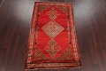 Pre-1900 Antique Bibikabad Persian Hand-Knotted 4x7 Wool Area Rug image 2