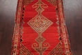 Pre-1900 Antique Bibikabad Persian Hand-Knotted 4x7 Wool Area Rug image 3