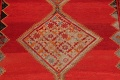Pre-1900 Antique Bibikabad Persian Hand-Knotted 4x7 Wool Area Rug image 4