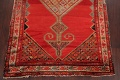 Pre-1900 Antique Bibikabad Persian Hand-Knotted 4x7 Wool Area Rug image 5