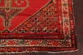 Pre-1900 Antique Bibikabad Persian Hand-Knotted 4x7 Wool Area Rug image 8