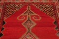 Pre-1900 Antique Bibikabad Persian Hand-Knotted 4x7 Wool Area Rug image 14