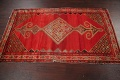Pre-1900 Antique Bibikabad Persian Hand-Knotted 4x7 Wool Area Rug image 16