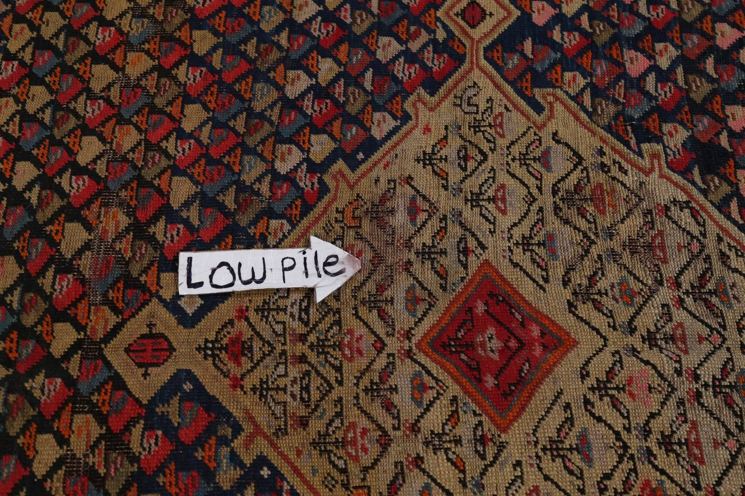 Pre-1900 Karabakh Bote Russian Oriental Hand-Knotted 5x16 Runner Rug image 11